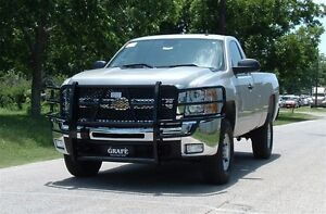 Front Grille Guard For 2007.5-2010 Chevy 2500/3500