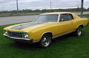 Beautifully Restored 1972 MONTE CARLO