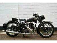 1937 Rudge Special 500cc. An Excellent Example and Extremely Original