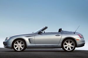 2005 Chrysler Crossfire Roadster Limited Convertible