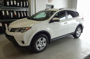 2015 Toyota RAV4 LE with upgrade package