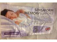 Sensaform memory support mattress