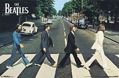 The Beatles Abbey Road Poster Print 34x22 Rock & Pop Music