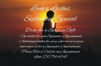 Leah's Lashes-Eyelash Extensions September Special