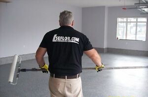 Owner / Installer on the job @ all time /  Epoxy Floor