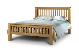 Julian Bowen Amsterdam solid oak King size bed