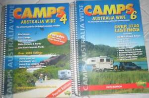 Camps Australia Books x 2  (4th Edition and 6th Edition) $10 EACH