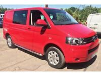 VOLKSWAGEN TRANSPORTER T30 TDI KOMBI HIGHLINE 4MOTION Red Manual Diesel, 2013