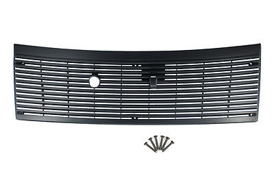 1983-1993 Ford Mustang Black Cowl Vent Grille Cover  w/ Hardware (6 Screws) ()