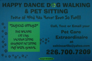 HAPPY DANCE DOG WALKING & PET SITTING