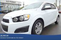 2012 CHEVROLET SONIC HATCHBACK, MAGS, AUTO, A/C,
