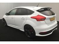 2016 WHITE FORD FOCUS 2.0 T ECOBOOST ST3 PETROL 5DR HATCH CAR FINANCE FR £67 PW