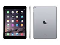 Apple iPad Air 2 64gb space grey warrenty till Aug 2017