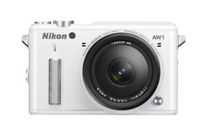 Nikon 1 AW1 14.2 MP HD Waterproof, Shockproof Digital Camera Sys