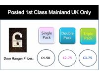 Save £££'s - Recyclable Reminder to take Reusable Bags Hanger