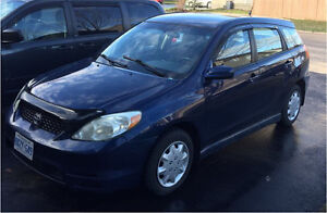 2004 Toyota Matrix XR automatic  2995$ safety E test included