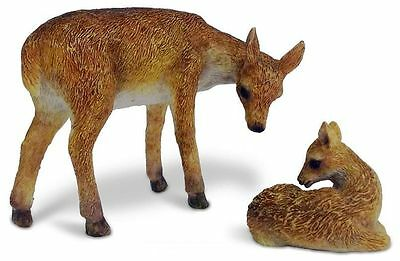 Miniature Fairy Garden Deer & Fawn Set - Buy 3 Save $5