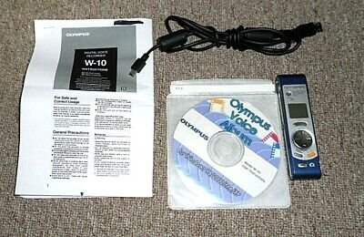 Olympus Digital Voice Recorder & Video W-10 Tested ()