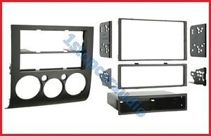 Mitsubishi 380 FACIA KIT fascia dash panel single & double DIN audio install