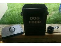 Black Dog Food Tin