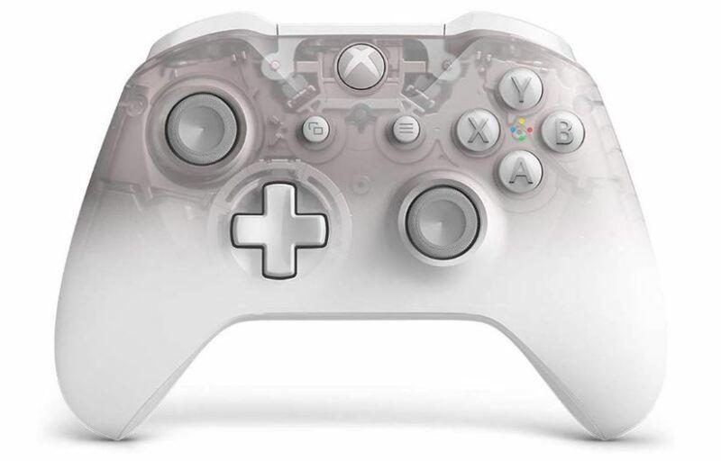 Microsoft Xbox Controller Phantom White Special Edition