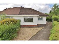 1 Bed True Bungalow in Higher Penwortham, Walking Distance Primary School, Shops etc