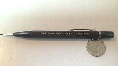 Vintage 1960 Autopoint Mechanical Pencil Advertising West Elizabeth Lumber Co.