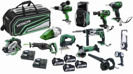 THE ULTIMATE 13 PIECE CORDLESS TOOL KIT - HITACHI 18V Osborne Park Stirling Area Preview