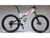 Specialized Stumpjumper FSR Comp Carbon 6Fattie 27.5+ Mountain Bike 2016 - Full Suspension MTB