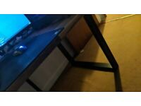 Pair of Industrial Style Robust Steel Legs Dining Table/Desk/Bench Frame Legs