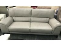 DFS Mode Leather 3 seater sofa