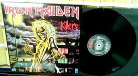 Iron Maiden ‎– Killers, NM, reissued in 2014, released on Parlophone, Cat No EMC 3357, heavy rock