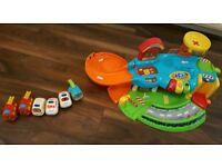 V tech garage car toy for sale