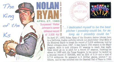 COVERSCAPE computer designed 35th anniversary Nolan Ryan Strikeout record cover