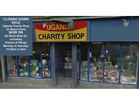 CLOSING DOWN SALE - Uganda Charity Shop - 53 Strand Road Derry - All Stock Must Go