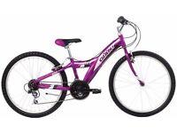 "(2538) 24"" Lightweight Aluminium GIANT GIRLS MOUNTAIN HYBRID BIKE BICYCLE Age: 8-10 H: 130-145cm"