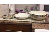 Set of Monsoon Home plates