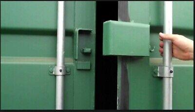 Weld-on Cargo Container Lock Box