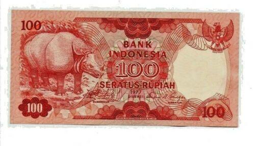 Indonesia 1977 P-116 100 Rupiah uncirculated   b