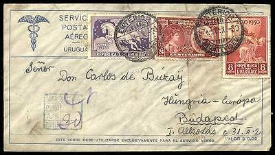Uruguay Nr. 425 u.a. Brief (8000301939)