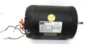 Weg motor 0 75 hp volts 208 230 460 phase 3 amps 2 45 2 40 for 3 phase motor hp to amps