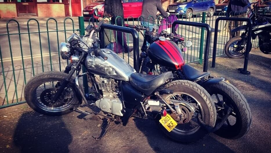 *sold pending collection*Suzuki Marauder GZ125 - Hardtail Bobber 125cc | in  Sheffield, South Yorkshire | Gumtree