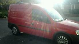 Vauxhall combo van 1,7 tdi
