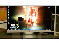 USED HP Pavilion 27xi 27-inch Diagonal IPS LED Backlit Monitor; Full HD 1920x1080 @ 60hz;