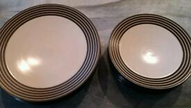 Denby Intro Plates and Side plates