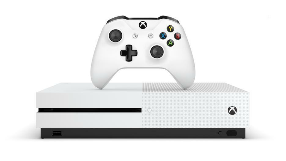 Microsoft Xbox One S 500GB Console - White  NEW