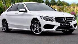Mercedes c 220 AMG line auto 2014 64 reg