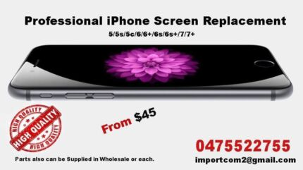 Professional iPhone screen replacement