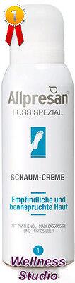 Allpresan Fuß spezial Schaum-Creme Nr. 1 Empfindliche, Beanspruchte Haut 125 ml