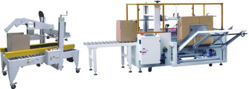 WrapSense Case Erector/Box Erector Case Taper Top & Bottom WS-300 System